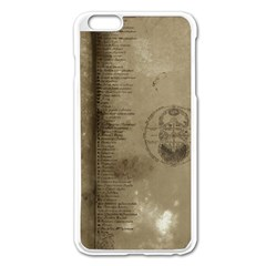 Declaration Apple Iphone 6 Plus Enamel White Case by mynameisparrish
