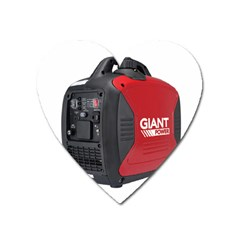 2000w Petrol Inverter Generator Magnet (heart) by hinterlandparts