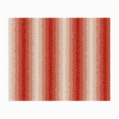 Red Curly Stripes Glasses Cloth (small, Two Sided) by BestCustomGiftsForYou