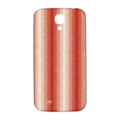 Red Curly Stripes Samsung Galaxy S4 I9500/i9505  Hardshell Back Case by BestCustomGiftsForYou