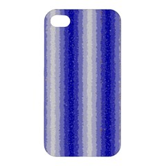 Dark Blue Curly Stripes Apple Iphone 4/4s Hardshell Case by BestCustomGiftsForYou