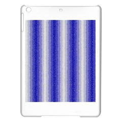 Dark Blue Curly Stripes Apple Ipad Air Hardshell Case by BestCustomGiftsForYou