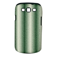 Dark Green Curly Stripes Samsung Galaxy S Iii Classic Hardshell Case (pc+silicone)