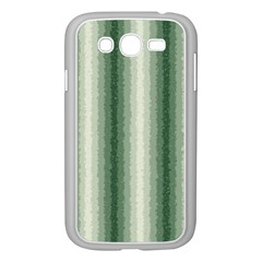 Dark Green Curly Stripes Samsung Galaxy Grand Duos I9082 Case (white) by BestCustomGiftsForYou