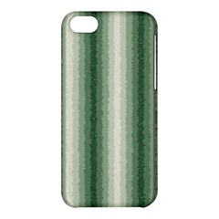Dark Green Curly Stripes Apple Iphone 5c Hardshell Case by BestCustomGiftsForYou