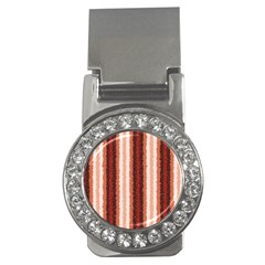 Native American Curly Stripes   1 Money Clip (cz)