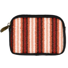 Native American Curly Stripes   1 Digital Camera Leather Case by BestCustomGiftsForYou