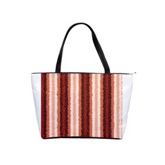 Native American Curly Stripes   1 Large Shoulder Bag by BestCustomGiftsForYou