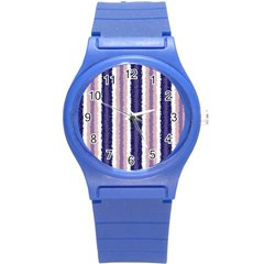 Native American Curly Stripes   2 Plastic Sport Watch (small) by BestCustomGiftsForYou