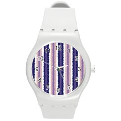 Native American Curly Stripes   2 Plastic Sport Watch (medium) by BestCustomGiftsForYou