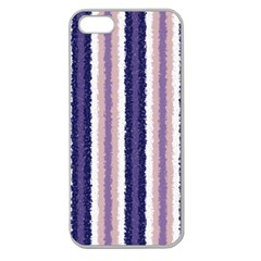 Native American Curly Stripes   2 Apple Seamless Iphone 5 Case (clear) by BestCustomGiftsForYou