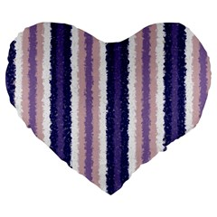 Native American Curly Stripes   2 19  Premium Heart Shape Cushion by BestCustomGiftsForYou