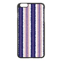 Native American Curly Stripes   2 Apple Iphone 6 Plus Black Enamel Case by BestCustomGiftsForYou