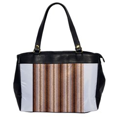 Native American Curly Stripes   3 Oversize Office Handbag (one Side) by BestCustomGiftsForYou
