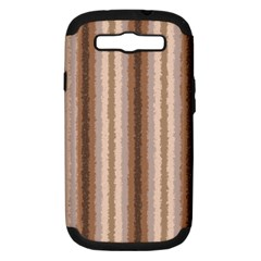 Native American Curly Stripes   3 Samsung Galaxy S Iii Hardshell Case (pc+silicone) by BestCustomGiftsForYou