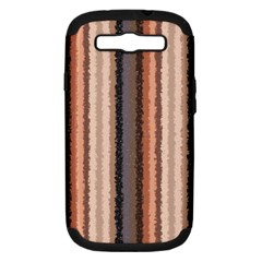 Native American Curly Stripes   4 Samsung Galaxy S Iii Hardshell Case (pc+silicone) by BestCustomGiftsForYou