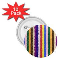 Vivid Colors Curly Stripes   1 1 75  Button (10 Pack) by BestCustomGiftsForYou