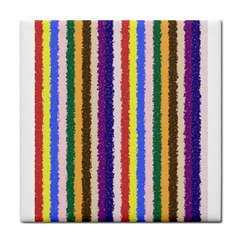 Vivid Colors Curly Stripes   1 Face Towel by BestCustomGiftsForYou