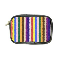 Vivid Colors Curly Stripes   1 Coin Purse