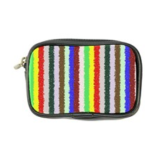 Vivid Colors Curly Stripes   2 Coin Purse