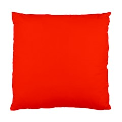 Bright Red Cushion Case (two Sided)
