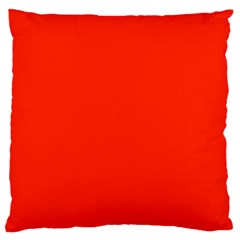 Bright Red Large Cushion Case (two Sided)