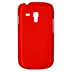 Bright Red Samsung Galaxy S3 Mini I8190 Hardshell Case