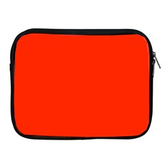 Bright Red Apple Ipad Zippered Sleeve
