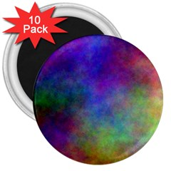 Plasma 3 3  Button Magnet (10 Pack) by BestCustomGiftsForYou