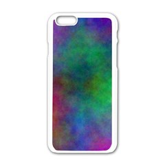 Plasma 1 Apple Iphone 6 White Enamel Case by BestCustomGiftsForYou
