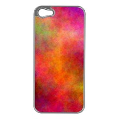 Plasma 10 Apple Iphone 5 Case (silver) by BestCustomGiftsForYou