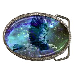 Catch A Falling Star Belt Buckle (oval) by icarusismartdesigns
