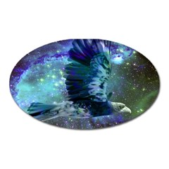 Catch A Falling Star Magnet (oval) by icarusismartdesigns