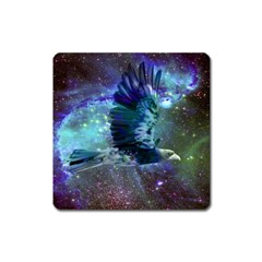 Catch A Falling Star Magnet (square) by icarusismartdesigns