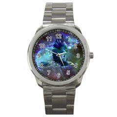 Catch A Falling Star Sport Metal Watch by icarusismartdesigns