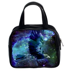 Catch A Falling Star Classic Handbag (two Sides) by icarusismartdesigns