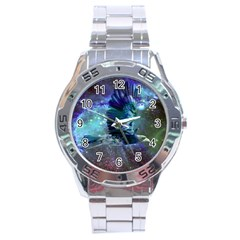Catch A Falling Star Stainless Steel Watch by icarusismartdesigns