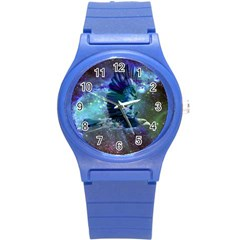 Catch A Falling Star Plastic Sport Watch (small) by icarusismartdesigns
