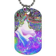 Splash1 Dog Tag (one Sided) by icarusismartdesigns
