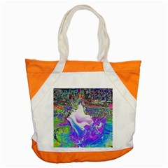 Splash1 Accent Tote Bag by icarusismartdesigns
