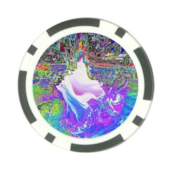 Splash1 Poker Chip by icarusismartdesigns