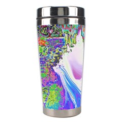 Splash1 Stainless Steel Travel Tumbler by icarusismartdesigns