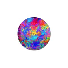 Colour Chaos  Golf Ball Marker 10 Pack by icarusismartdesigns