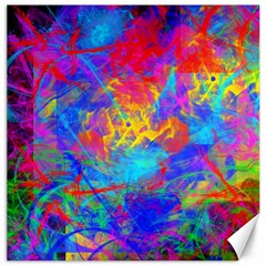 Colour Chaos  Canvas 12  X 12  (unframed) by icarusismartdesigns