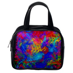 Colour Chaos  Classic Handbag (one Side) by icarusismartdesigns