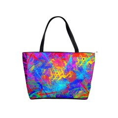 Colour Chaos  Large Shoulder Bag by icarusismartdesigns