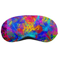 Colour Chaos  Sleeping Mask by icarusismartdesigns