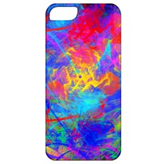 Colour Chaos  Apple Iphone 5 Classic Hardshell Case by icarusismartdesigns