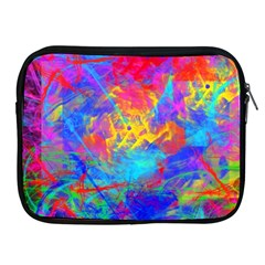 Colour Chaos  Apple Ipad Zippered Sleeve by icarusismartdesigns