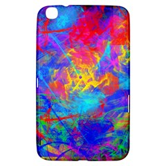 Colour Chaos  Samsung Galaxy Tab 3 (8 ) T3100 Hardshell Case  by icarusismartdesigns